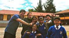 UBELONG volunteers and students having some fun! #VolunteerAbroad