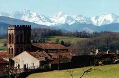 Saint-Lizier and the Pyrenees