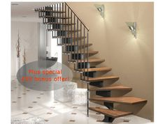 Stilo Modular Staircase Kit in two widths 70cm and 83cm