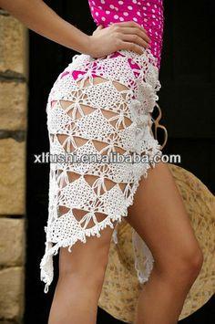 Crochet beach coverup | New Designer Perfect Beach Cover Ups Crochet Sarongs