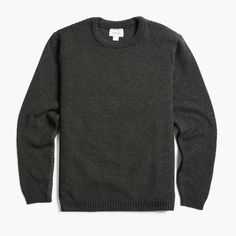 Italian Merino Wool Pullover Sweater | MARMIER Pullover Sweaters, Men Sweater, Mode Masculine, Merino Wool, Knitting, Casual, Sleeves, Clothes, Shopping