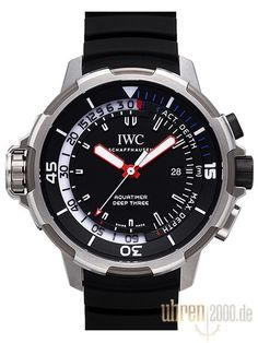 IWC Aquatimer Deep Three IW355701