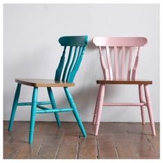 These chairs remind me of sleepovers at my grandparents house, sugar cubes, and LOVE!