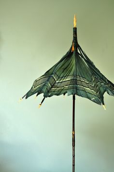 An 1850s pagoda-frame folding carriage parasol with origi… | Flickr