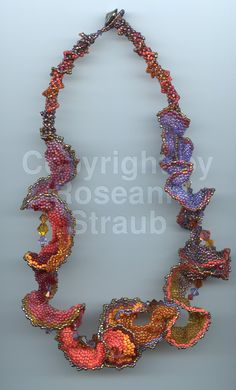 Roseann Straub's Flamenco Fire (Beads)