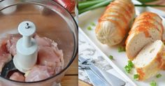 Home made chicken sausage Baby Food Recipes, Meat Recipes, Cooking Recipes, Toddler Meals, Kids Meals, Romanian Food, Chicken Sausage, Russian Recipes, Smoking Meat
