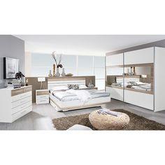 Komplett Schlafzimmer Tarragona 4tlg. Bett Breite wählbar Weiß Eiche Sanremo Jetzt bestellen unter: https://moebel.ladendirekt.de/schlafzimmer/komplett-schlafzimmer/?uid=7cc94926-b7b3-5e45-a8a8-e16826d8431b&utm_source=pinterest&utm_medium=pin&utm_campaign=boards #möbel #komplettschlafzimmer #günstig #kaufen #tarragona #a9n15.0t41.80 #online #schlafzimmer #rauch