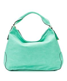 Jenna Hobo in Mint // just the right colour #designtrend