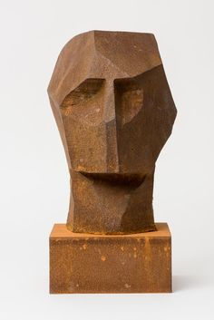 Rory Menage SculptureYou can find Stone sculpture and more on our website. Cubist Sculpture, Sculpture Head, Stone Sculpture, Sculpture Projects, Masks Art, Contemporary Sculpture, Art Plastique, Stone Painting, Ceramic Art