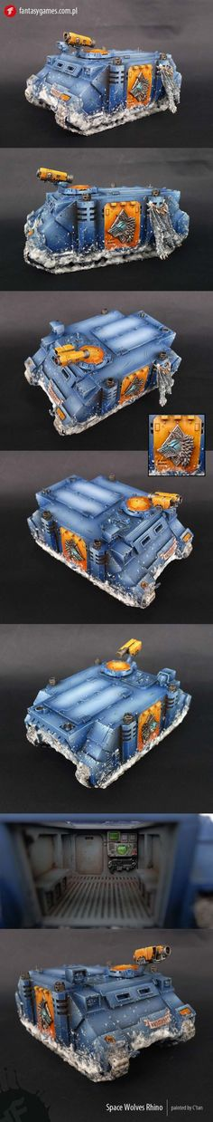 Space Wolves Rhino