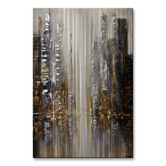 Silver City by Osnat Metal Wall Art  | Overstock.com Shopping - The Best Deals on Metal Art