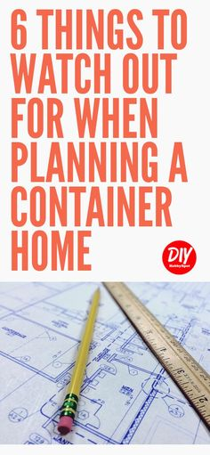 Container Homes are a great way to make your tiny house dreams come true. Using shipping containers can present some challenges. Here are some container house planning tips to help you out. Container Van, Sea Container Homes, Building A Container Home, Container Buildings, Container House Design, 20ft Container, Used Shipping Containers, Shipping Container Home Designs, Shipping Container House Plans