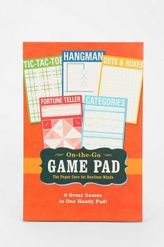 Game Notepad #urbanoutfitters