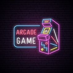 vector game background * vector game art _ vector game _ vector game character _ vector game design _ vector game background _ vector game of thrones _ vector game ui _ vector game art character design Arcade Game Machines, Arcade Machine, Youtube Banner, Retro Arcade Games, Neon Design, Neon Aesthetic, Retro Gamer, Gaming Wallpapers, Video Game Art