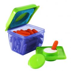 Fit & Fresh Little Dipper Snack Container Howard Storage, Snack Containers, Dipper, Get In Shape, How To Lose Weight Fast, Lunch Box, Shapes, Fitness, Kids