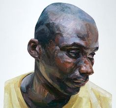 Perfect Wisdom by Tai-Shan Schierenberg Oil Portrait, Abstract Portrait, Portrait Paintings, Painting People, Figure Painting, Tai Shan Schierenberg, Beautiful Sketches, African American Artist, A Level Art