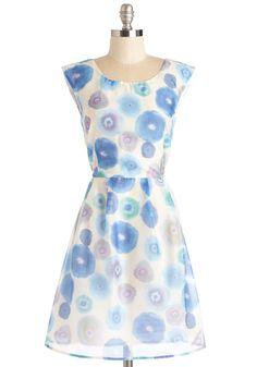 Meadow Merriment Dress in Watercolor