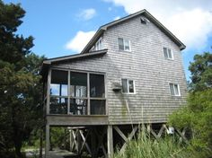 Piper Green is a 3 Bedroom  Rental House in Ocracoke, part of the Outer Banks of North Carolina. Non-Smoking.