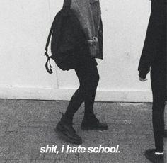 дерьмо, которое я ненавижу в школе