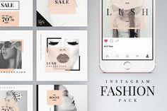 Instagram Fashion Pack by Tugcu Design Co. on @creativemarket