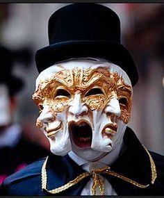Masquerade for Mardi Gras Venice Carnival Costumes, Venetian Carnival Masks, Carnival Of Venice, Venetian Masquerade, Masquerade Ball, Venice Beach, Venice Carnivale, Mens Masquerade Mask, Venice Florida