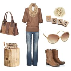 """""""Browns"""" by anne-ratna on Polyvore"""
