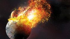 The planetary collision that formed the Moon may have been way more violent than we thought