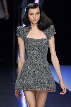 A is for Alexander McQueen: Paris Spring 2008.