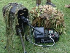 High powered long range rural video surveillance field kit.