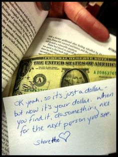 I should do this at the college library.  Celebrate library use and donate to the poor college kids fund!