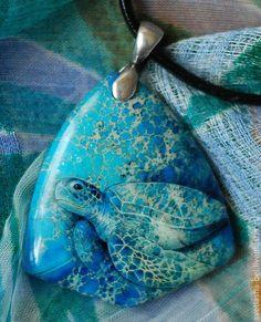 Кулоны, подвески ручной работы. Ярмарка Мастеров - ручная работа На Черепашьей Глубине. Handmade.