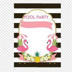 Convite de festas tropical do flamingo (5x7) | Zazzle.com.br Barbie Birthday Party, Birthday Tags, Flamingo Birthday, Flamingo Party, Happy Birthday, Birthday Parties, Pink And Gold Decorations, Flamingo Painting, Tropical Party