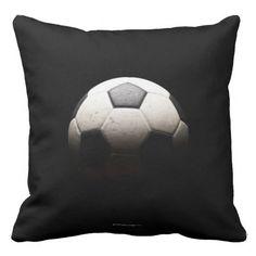 Soccer Ball 3 Throw Pillow