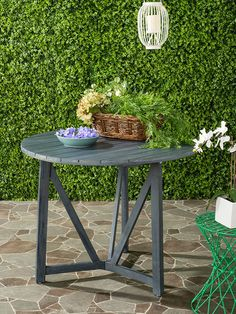 Cloverdale Round Table By Safavieh At Gilt