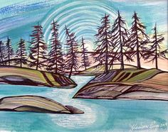 Vancouver, Landscape, Artist, Photography, Painting, Design, Scenery, Artists, Painting Art