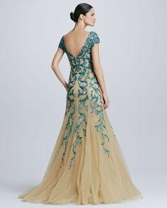 Tadashi Elegant DressesTurkish Ladies Gowns Designs (5)