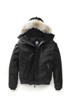 Inspired by the classic bomber design of the Chilliwack, the Borden offers mobility, durability, and warmth. It provides an assortment of pockets inside and out to keep your belongings close at hand and features a removable coyote fur ruff and hood. Canada Goose Mens, Canada Goose Jackets, Outfit Grid, Body Armor, Parka, Bomber Jacket, Jacket Men, Winter Jackets, Mens Fashion