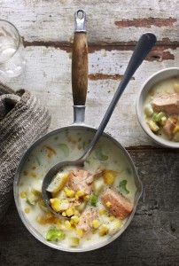 chunky smoked fish chowder