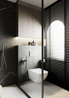 Guest Toilet, Contemporary Bathroom Designs, Washroom, Bathroom Interior, Townhouse, Bungalow, Bathtub, Minimalist, Behance