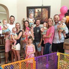 "Danielle Busby on Instagram: ""Happy First Birthday Berkley! So glad we got to celebrate this day with you! #thatsalotofgirls #zornesneedaboy @matildajaneclothing came…"""