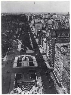fifth avenue & central park - 1893