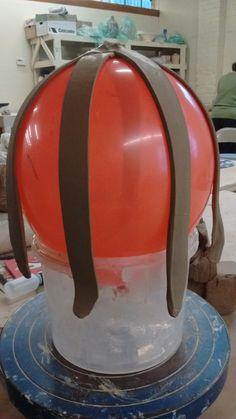Fine Mess Pottery: My Beautiful Balloon Basket