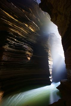 beautiful... texture & light. Sacred Gupteshwor Shiva Cave - Pokhara, Nepal by Anton Jankovoy