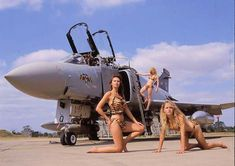 Every comes with 3 models Military Jets, Military Aircraft, Fighter Aircraft, Fighter Jets, F4 Phantom, Airplane Art, Air Space, Aircraft Pictures, Nose Art