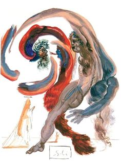 Salvador Dalí's breathtaking paintings based on Dante's Divine Comedy http://j.mp/1hQ5DYH pic.twitter.com/Oznb57ccK1