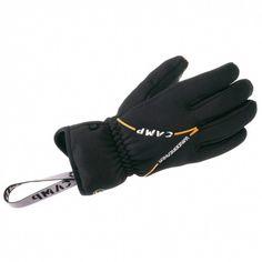 Výborné rukaviceCamp G Lite Windzo strečového fleesu s windproof membránou vhodné ako izolačná vrstva rúk na zimnú turistiku. Konce prstov sú zakončené nešmýkavým materiálom.