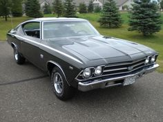 Chevrolet Chevelle '69. A Beautiful car <3!!!!!!!! My all time fav!!!!!!