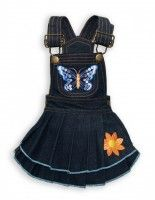 Butterfly Denim Dress  Price: $42.99  Size: XXS, XS, S, M, L, XL