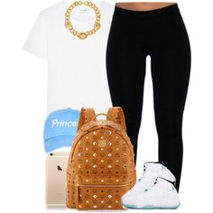 Princess. ✨ by livelifefreelyy on Polyvore featuring Yves Saint Laurent, MCM, Versace and Retrò