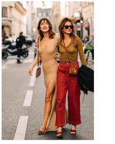 The Best Street Style at Paris Fashion Week 2019 Cool Street Fashion, Street Style Women, Paris Fashion, Girl Fashion, Fashion Looks, Fashion Outfits, Womens Fashion, Fashion Trends, Undercut Pixie
